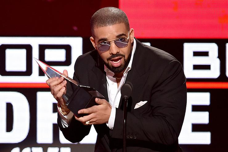 Drake accepts Favorite Rap/Hip-Hop Album for 'Views' onstage during the 2016 American Music Awards at Microsoft Theater on November 20, 2016 in Los Angeles, California.