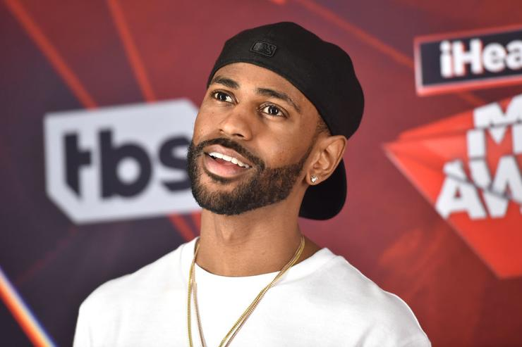 Big Sean poses in the press room during the 2017 iHeartRadio Music Awards which broadcast live on Turner's TBS, TNT, and truTV at The Forum on March 5, 2017 in Inglewood, California.