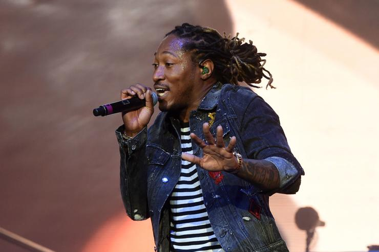 Rapper Future performs on the Coachella Stage during day 2 of the Coachella Valley Music And Arts Festival (Weekend 1) at the Empire Polo Club on April 15, 2017 in Indio, California.