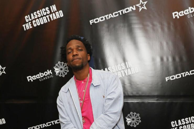 Curren$y attends as Reebok Classic and Footaction