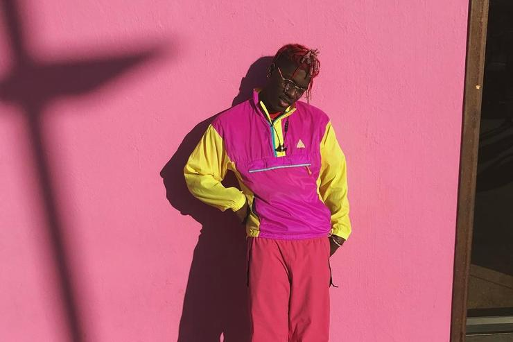 Lil Yachty in pink