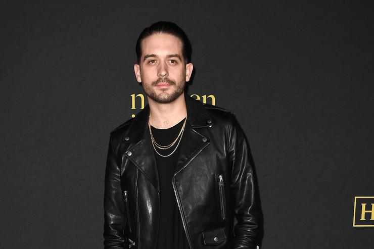 g-eazy on the Billboard Power 100 Red Carpet