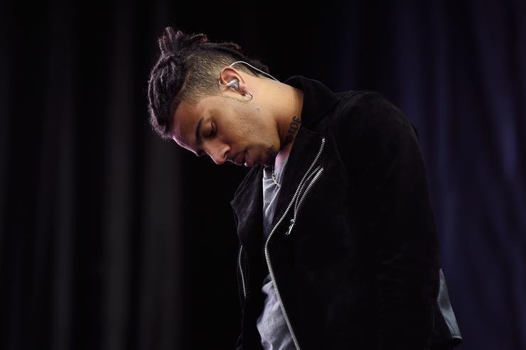 Vic Mensa at Global Citizen Hosts 'Show Up and Vote' Concert in Las Vegas