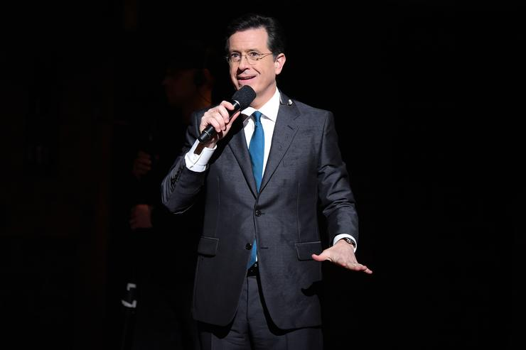 Stephen Colbert at The 58th GRAMMY Awards