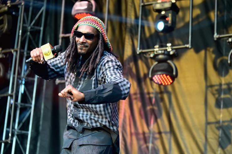 Snoop performs at Firefly Music Festival 2015