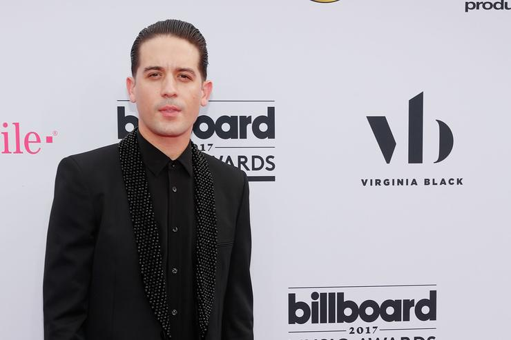 G-Eazy arrives at the 2017 Billboard Music Awards