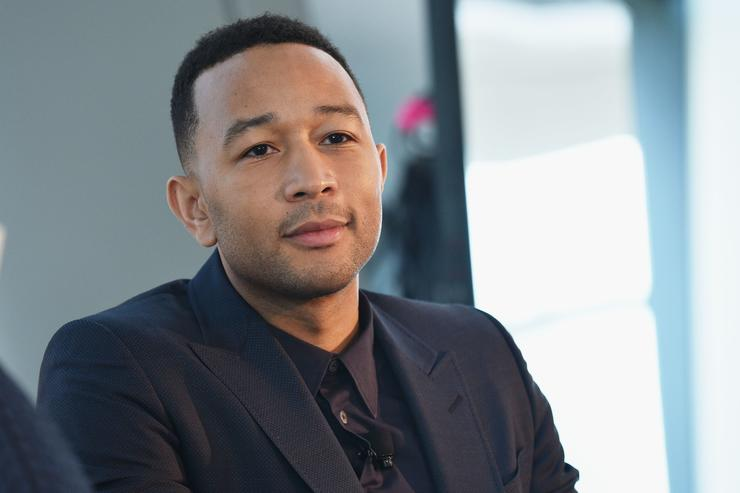 John Legend speaks onstage during the 4th Annual Town & Country Philanthropy Summit