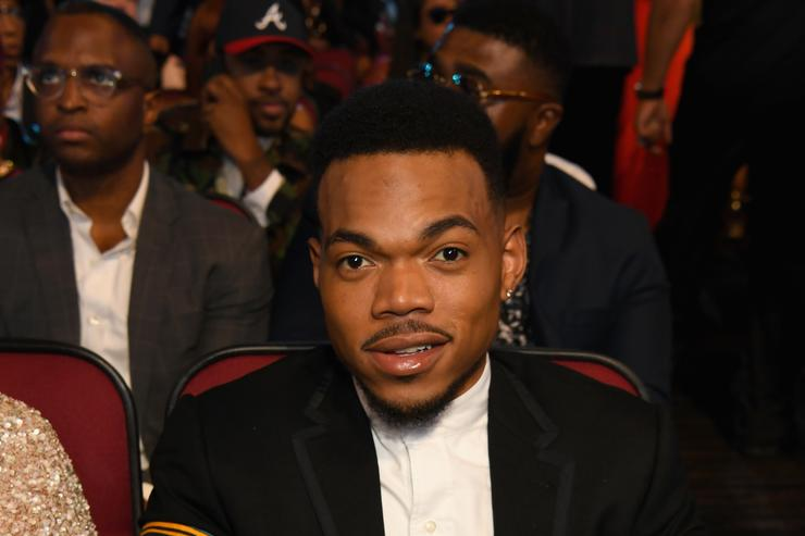 Chance The Rapper at 2017 BET Awards