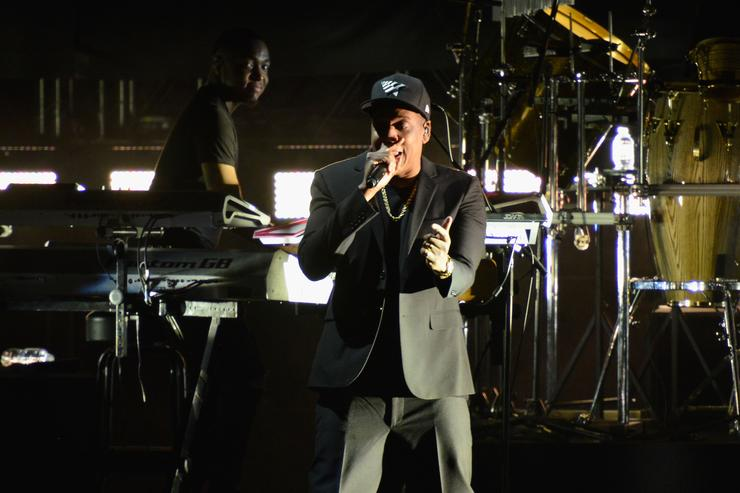 Jay-Z performs at Get Out The Vote for Hillary Clinton