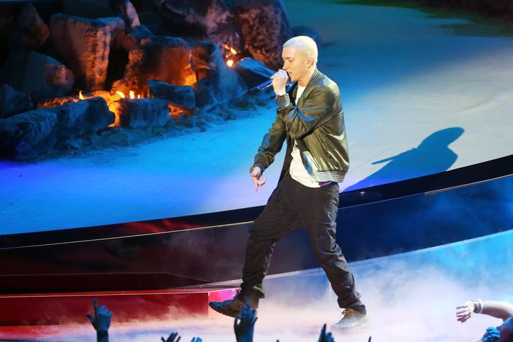 It Sounds Like Eminem's New Album Is Almost Done
