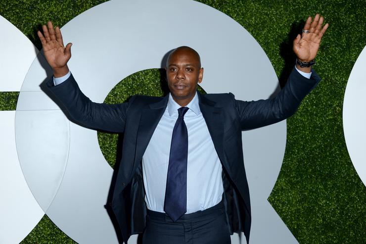 Dave Chappelle attends the 2014 GQ Men Of The Year party at Chateau Marmont