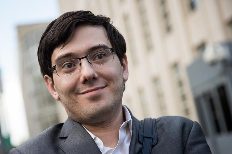 Former pharmaceutical executive Martin Shkreli departs the U.S. District Court for the Eastern District of New York, August 3, 2017 in the Brooklyn borough of New York City. Jurors finished their fourth day of deliberations and have not reached a verdict. Shkreli faces eight counts of securities fraud and conspiracy to commit securities and wire fraud.